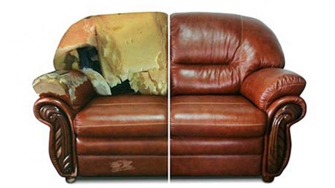 Перетяжка мягкой мебели в Шахтах
